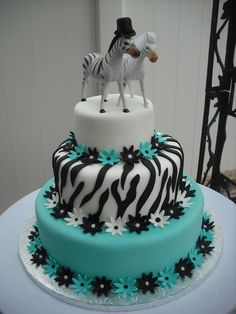 1000 Ideas About Zebra Cakes On Pinterest Pink Zebra