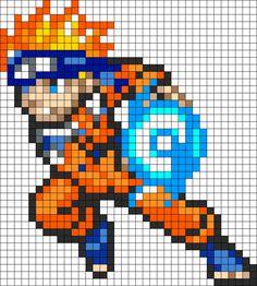 Naruto Rasingan Pixel Art