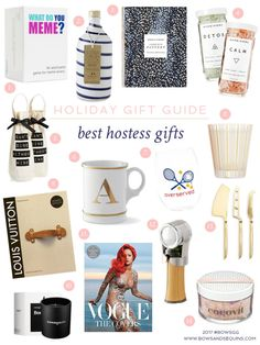 Gift Guide #4: Hostess Gifts | Bows & Sequins | Bloglovin'