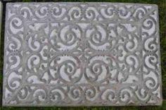 diy Concrete door mat