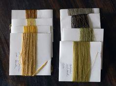 natalie stopka | oak bark dyeing