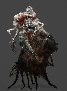necromorph 2 by mythrilgolem1