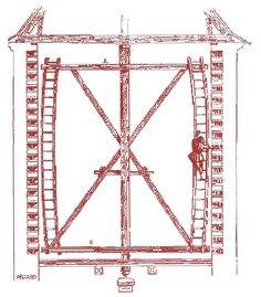Dovecote Schematic Drawing Character Storyboard And