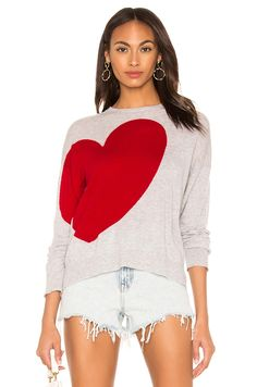 Shop a great selection of Heart Star Crewneck Sweater SUNDRY. Find new offer and Similar products for Heart Star Crewneck Sweater SUNDRY. Heart Sweater, Grey Sweater, Crewneck Sweater, Drape Cardigan, Sweater Skirt, Short Sleeve Blouse, Rib Knit, Heather Grey, Crew Neck