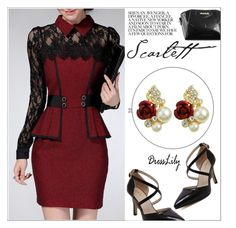 """""""Dresslily #5"""" by shambala-379 ❤ liked on Polyvore featuring chic and dresslily"""