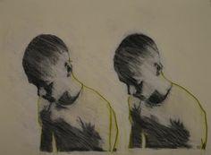 """Saatchi Art Artist Mark Horst; Drawing, """"glimpses no. 14"""" #art"""