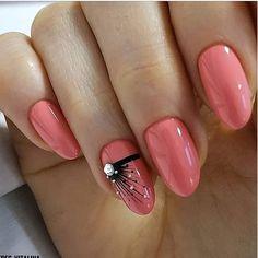 30 Most Beautiful Nail Art Trend Ideas for 2019 Rosa Pink Nails Winter Nail Designs, Cool Nail Designs, Winter Nails, Summer Nails, Cute Nails, Pretty Nails, Hair And Nails, My Nails, Prom Nails