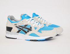 #Asics Gel Lyte V Blue/Grey #sneakers