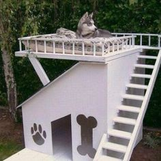 pet house, play house, or my hideaway?  neat idea