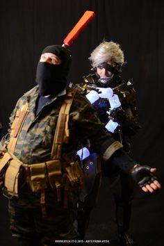 Raiden vs soldier