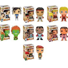 Toys & Hobbies Dan 76 Matching In Colour Fine Funko Pop Vinyl Asia Street Fighter