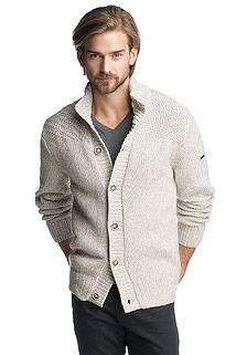warm chunky knit jacket