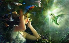 abstract art images | Abstract new abstract art girl wallpaper, image, photo free – Nice ...