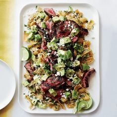 Adding cola to a marinade and making chilaquiles with Fritos are both genius uses for junk food from chef Jamie Bissonnette. Good Steak Recipes, Wine Recipes, Mexican Food Recipes, Beef Recipes, Cooking Recipes, Ethnic Recipes, Grilling Recipes, Chilaquiles Recipe, Steak Dinner Sides