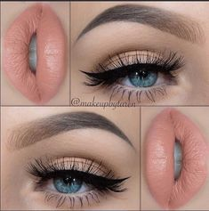 12 summer wedding makeup ideas - wedding makeup - cuteweddingideas.com