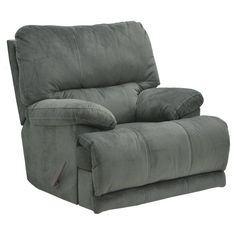 Catnapper Riley Chaise Rocker Recliner Charcoal - 612202187018