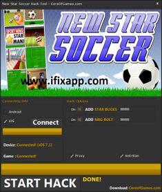 New Star Soccer hacks cheats