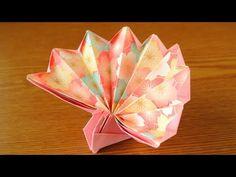 折り紙 うさぎ 箱 Origami Easter Bunny Basket - YouTube