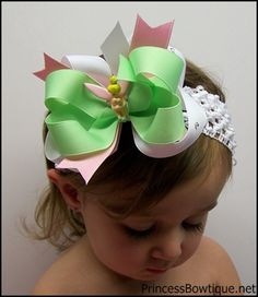 Tinker Bell bow for B.l.