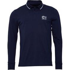 Cruyff Classics Mens Anwar Polo Navy Cruyff long sleeve polo shirt. http://www.MightGet.com/february-2017-2/cruyff-classics-mens-anwar-polo-navy.asp