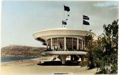 Restaurant Structure Concrete  La Reserve restaurant, Agadir, Morocco, c1950s