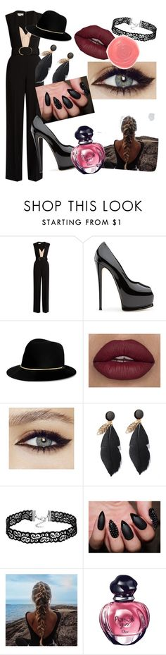 """""""Poison"""" by anaquj ❤ liked on Polyvore featuring STELLA McCARTNEY, Janessa Leone, Rituel de Fille, Christian Dior and sleevelessjumpsuits"""