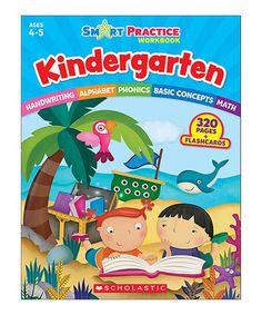 Look at this #zulilyfind! Kindergarten Smart Practice Workbook #zulilyfinds
