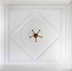 Music Room Ceiling Detail | John B. Murray Architect