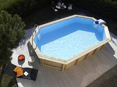 Image detail for -Above Ground Pools - Above Ground Garden Swimming Pool Range Desjoyaux