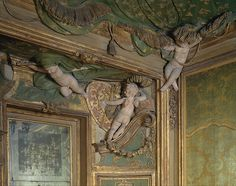 Bedroom from the Sagredo Palace, detail