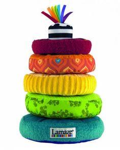 Lamaze Rainbow Stacking Rings #toys #baby