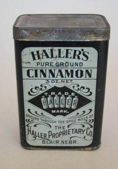 Haller's Spice Tin Cinnamon