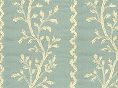 Brunschwig & Fils SEA VINE STONE BLUE 8013136.515 - Brunschwig & Fils - Bethpage, NY, 8013136.515,Hommage,Brunschwig & Fils,Embroidery,Blue, Light Blue,Blue,S (Solvent or dry cleaning products),Embroidered,Up The Bolt,Hommage,India,Botanical/Foliage,Multipurpose,Yes,Brunschwig & Fils,No,SEA VINE STONE BLUE