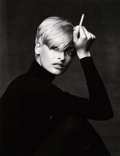 "Linda Evangelista by Patrick DeMarchelier. And yet they tell you ""everyone is equal"".........HAHAHAHA!!!!                                                                                                                                                      More"