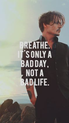 For When You're Feeling Down For When You're Feeling Down - Unique Wallpaper Quotes Johnny Depp Quotes, Johnny Depp Pictures, Jhony Depp, Mood Quotes, Positive Quotes, Jack Sparrow Quotes, Johnny Depp Wallpaper, Great Quotes, Inspirational Quotes