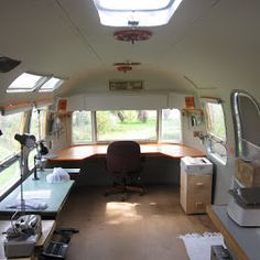 After - The front end of the Airstream