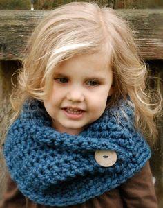 bufanda ganchillo infantil - Buscar con Google