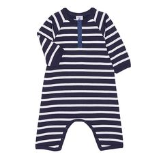 UNISEX BABY MARINIÈRE COVERALL