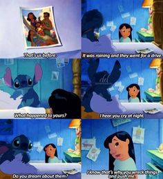 Lilo and Stitch is my childhood
