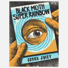Black Moth Super Rainbow 18x24