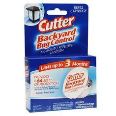 Cutter Backyard Bug Control Mosquito Repellent Lantern Refill Cartridge - 1 ea