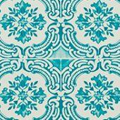 Christian Lacroix behang, Azulejos lagon