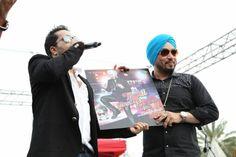 Mika Singh Launching Dilbagh Singh's Thodi Jinni Peeti Hai song in Dubai, Hit Indipop song of 2014