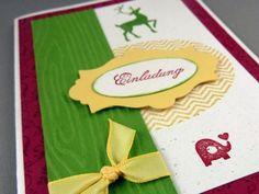 Stampin' Up!-Bayerische-indische Hochzeit/wedding