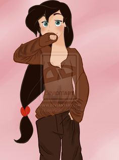 Melody - Jim clothes by on DeviantArt Disney And Dreamworks, Disney Pixar, Disney Characters, Melody Little Mermaid, Disney Art, Disney Stuff, Jim Hawkins, Dragon Princess, Treasure Planet