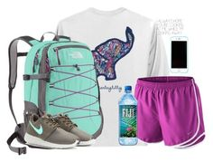 ↞ we are only a m o m e n t ↠ by kaley-ii ❤ liked on Polyvore featuring The North Face and NIKE