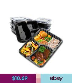 35ace9b8c Food Storage 10Pcs Lunch Box Food Storage Disposable Takeaway Bento  Microwave Safe Wholesale  ebay  Home   Garden