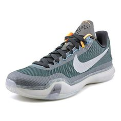 Nike Men's Kobe X Teal/Rflct Silver/Blck/Wlf Gry Basketball Shoe 10 Men US - Brought to you by Avarsha.com
