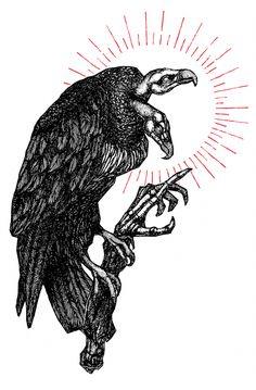 "Image of ""Vicious Cycle"" Watercolor Print Satanic Art, Occult Art, Dark Tattoo, Desenho Tattoo, Arte Horror, Inspirational Wall Art, Wall Art Pictures, Skull Art, Watercolor Print"
