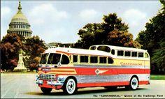 #vintage bus#trailways